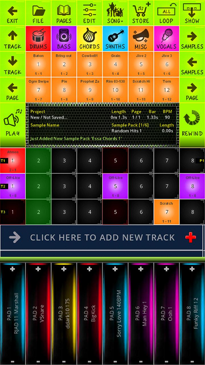 BeatDrops Beat Maker full screenshot